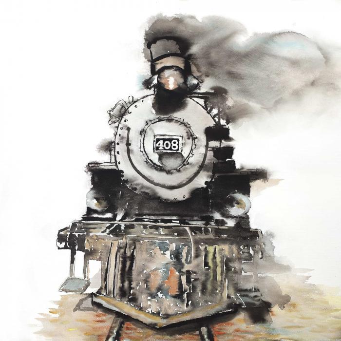 Train vintage