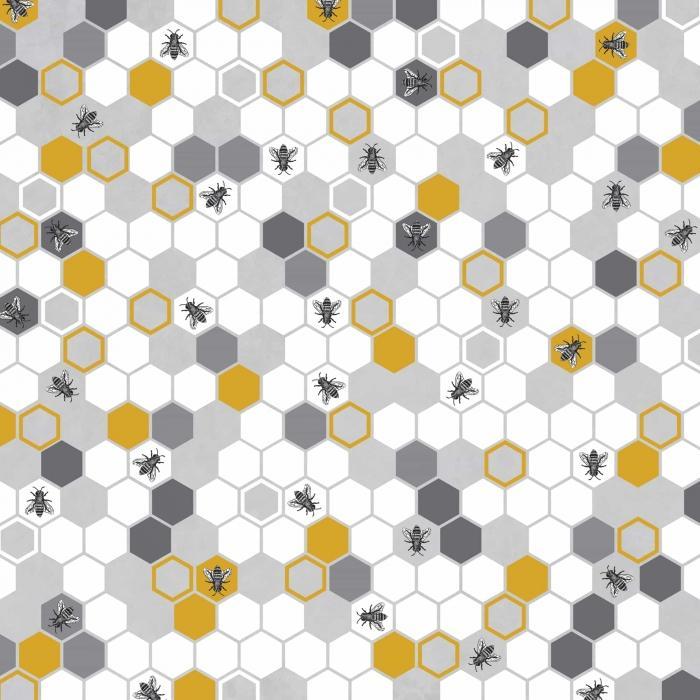Motif de ruche d'abeilles