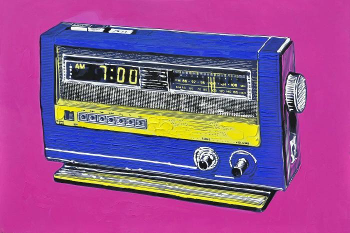 Alarme radio rétro