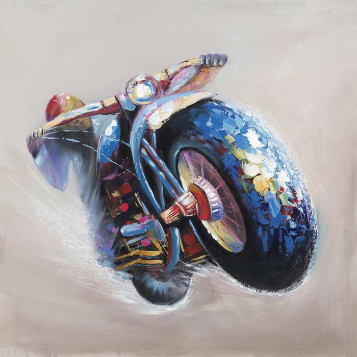 Moto en saut