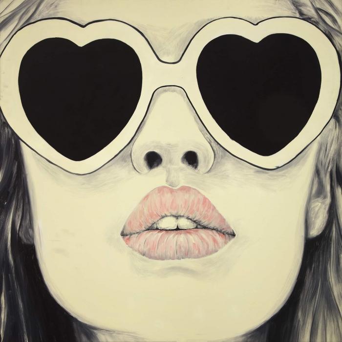 Mademoiselle à lunette