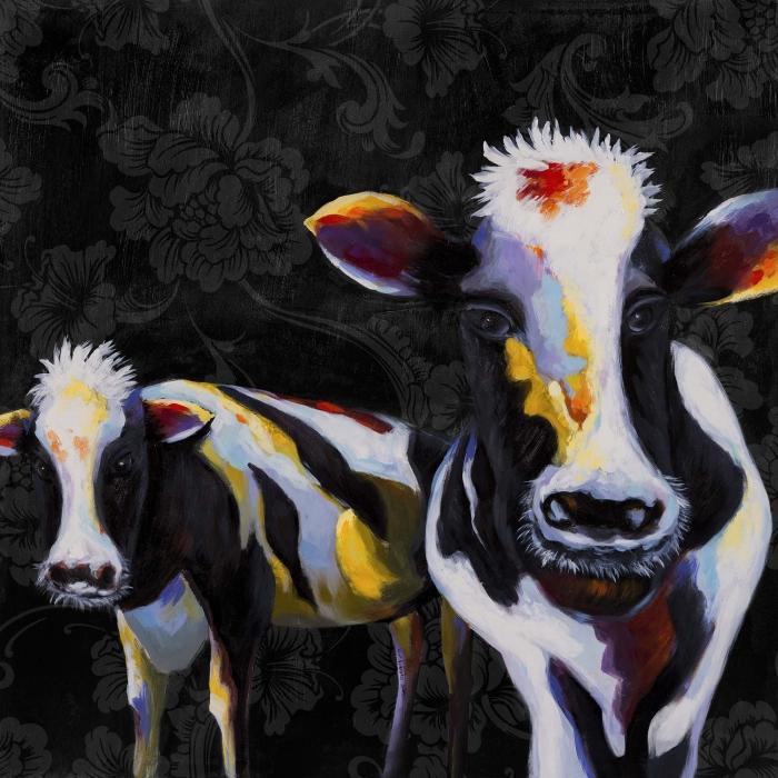 Deux drôles de vaches victorienne