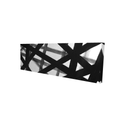 Canvas 16 x 48 - 3D - Abstract bold lines