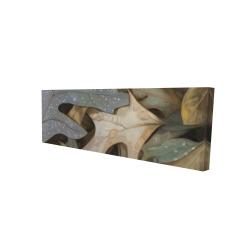 Canvas 16 x 48 - 3D - Autumn leaves