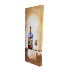 Canvas 16 x 48 - 3D - White wine