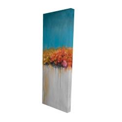 Canvas 16 x 48 - 3D - Orange flowers bundle