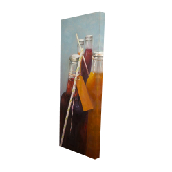 Canvas 16 x 48 - 3D - Summer drinks