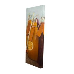 Canvas 16 x 48 - 3D - Orange summer drinks