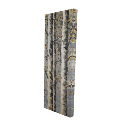 Canvas 16 x 48 - 3D - Blossoming birches