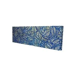 Canvas 16 x 48 - 3D - Leaves patterns