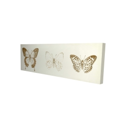 Canvas 16 x 48 - 3D - Butteflies sketch