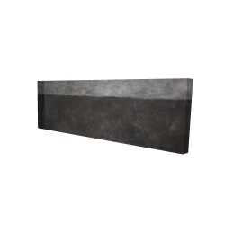 Canvas 16 x 48 - 3D - Shades of gray