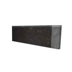 Canvas 16 x 48 - 3D - Four shades of gray