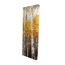 Canvas 16 x 48 - 3D - Birches by sunny day