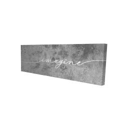 Canvas 16 x 48 - 3D - Imagine