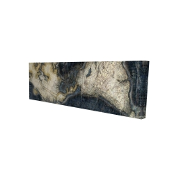 Canvas 16 x 48 - 3D - Old world map