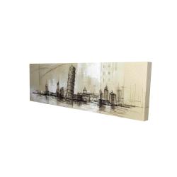 Canvas 16 x 48 - 3D - Pise tower sketch