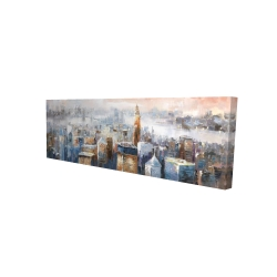 Canvas 16 x 48 - 3D - Abstract new york city