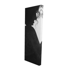 Canvas 16 x 48 - 3D - Chic woman with jewels
