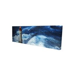 Canvas 16 x 48 - 3D - The headlight of jument