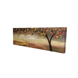 Canvas 16 x 48 - 3D - Fall tree