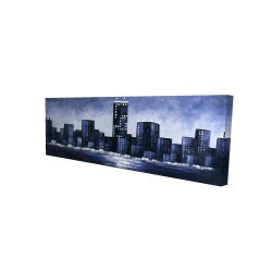 Canvas 16 x 48 - 3D - Towering over buildings