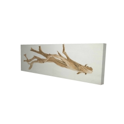 Canvas 20 x 60 - 3D - Floated wood