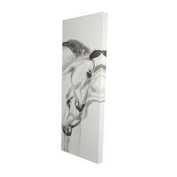 Canvas 16 x 48 - 3D - Inseparables