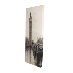 Canvas 16 x 48 - 3D - Big ben in london