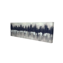 Canvas 16 x 48 - 3D - Dark city