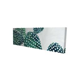 Canvas 16 x 48 - 3D - Opuntia cactus 1