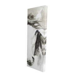 Canvas 16 x 48 - 3D - Beautiful abstract horse