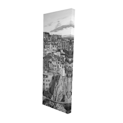 Canvas 16 x 48 - 3D - Manarola in italy