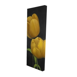 Canvas 16 x 48 - 3D - Two daffodils flowers