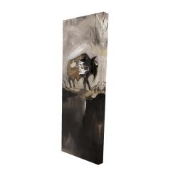 Canvas 16 x 48 - 3D - Abstract buffalo