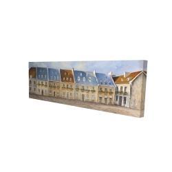 Canvas 16 x 48 - 3D - Old quebec city