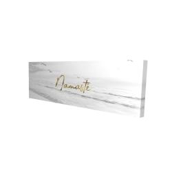 Canvas 16 x 48 - 3D - Namaste