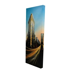 Canvas 16 x 48 - 3D - Flatiron building in light