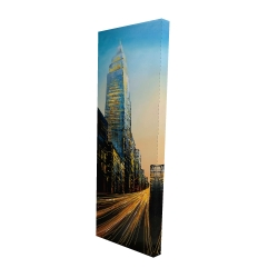 Canvas 16 x 48 - 3D - In the street of empire state building