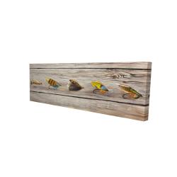 Canvas 16 x 48 - 3D - Fishing flies