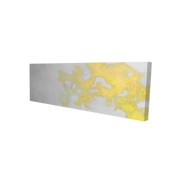 Canvas 16 x 48 - 3D - Gold stains