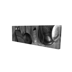 Canvas 16 x 48 - 3D - Kitchen tools for chef