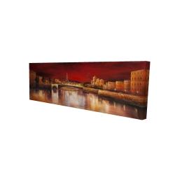Canvas 16 x 48 - 3D - Paris by red dawn