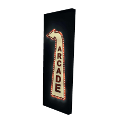Canvas 16 x 48 - 3D - Arcade