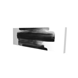 Canvas 16 x 48 - 3D - Watercolor abstract stripes