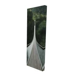 Canvas 16 x 48 - 3D - Steep bridge