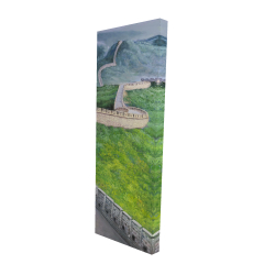 Canvas 16 x 48 - 3D - Great wall of china