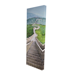 Canvas 16 x 48 - 3D - Great wall of mutianyu