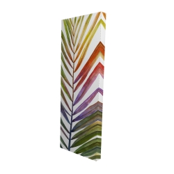Canvas 16 x 48 - 3D - Watercolor tropical palm leave