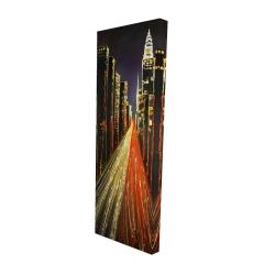 Canvas 16 x 48 - 3D - Lively city